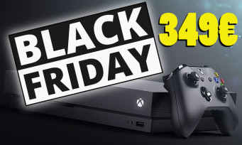 Black Friday : Microsoft met le paquet, la Xbox One X 1 To proposée à 349€