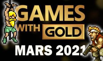 """Xbox : les jeux gratuits """"Games with Gold"""" de Mars 2021, y a du Metal Slug 3 dedans"""
