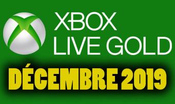Xbox Live : on connaît les jeux gratuits pour décembre 2019, les voilà en vidéo