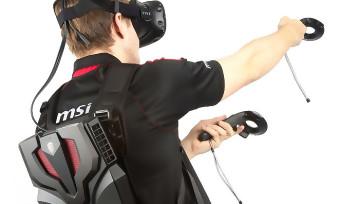 VR One de MSI : le sac à dos de réalité virtuelle tient sa date de sortie !