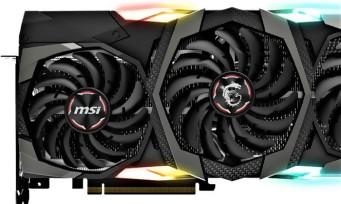 MSI : voici les GeForce RTX de l'assembleur taiwannais en images !