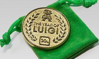 Club Nintendo : une pièce commémorative Luigi pour 1500 étoiles !