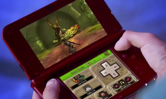new 3DS XL : une pub avec Zelda Majora's Mask 3D et Monster Hunter 4 Ultimate