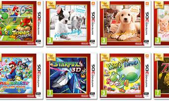 3DS : une collection Nintendo Selects pour découvrir des classiques à bas prix