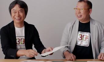 30 ans de Mario : Shigeru Miyamoto et Takashi Tezuka dévoilent des croquis et des anecdotes du passé