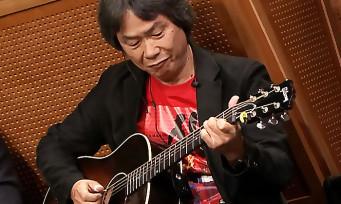 Nintendo : Shigeru Miyamoto joue le thème de Super Mario Bros. à la guitare !