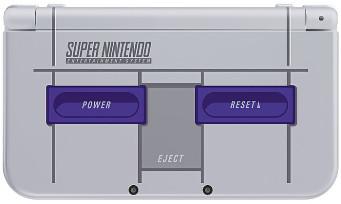 New 3DS XL : la console collector Super NES arrive aux Etats-Unis