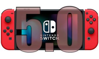 Nintendo Switch : la mise à jour 5.0 est disponible, voilà ce qu'elle apporte comme nouveautés