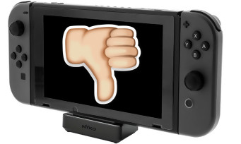 Switch : Nintendo met en garde contre les docks non officiels, des joueurs ont perdu leurs sauvegardes