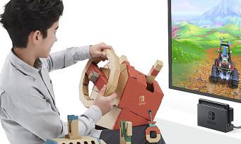Nintendo Labo : le Kit Véhicules met la gomme avec une vidéo de présentation