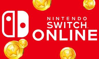 Nintendo Switch Online : il sera possible d'acheter un abonnement avec les points or