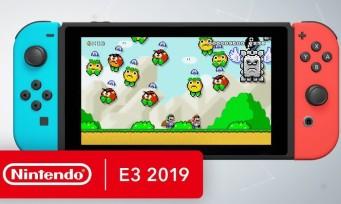 Nintendo : un trailer avec la liste des jeux présents lors du Direct
