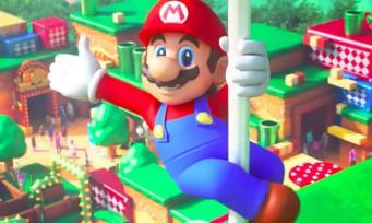 Super Nintendo World : le futur parc d'attractions se montre en vidéo, des nouvelles infos