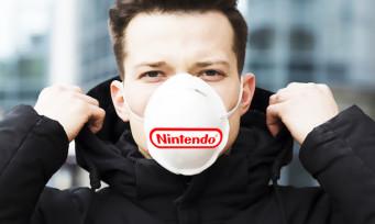 Nintendo donne près de 10 000 masques pour se protéger du Coronavirus