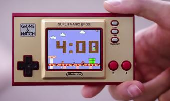 Game & Watch Super Mario : Nintendo lance une console face aux PS5 et Xbox Series X et fait mouche !