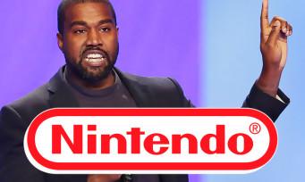 Kanye West voulait faire un jeu avec Nintendo, il s'est gentiment fait remballer