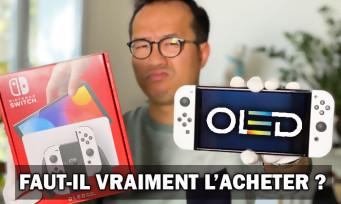 Nintendo Switch OLED : faut-il vraiment l'acheter ? Notre verdict + unboxing + comparatif