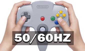 Switch Online : les jeux N64 seront en 60hz, mais pas en français, il faudra choisir