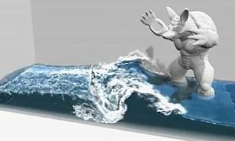 NVIDIA : une nouvelle gestion de l'eau géré par le PhysX