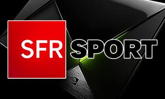 nVIDIA : SFR Sport offert pendant 1 mois pour l'achat d'un pack SHIELD TV