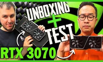RTX 3070 : notre test complet + unboxing de la nouvelle GeForce de Nvidia