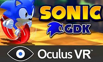 Sonic GDK : Sonic en vue FPS avec l'Oculus Rift