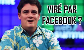 Palmer Luckey, le créateur de l'Oculus Rift, a-t-il été viré par Facebook ?