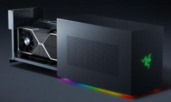 Razer Tomahawk : un PC ultra puissant en forme de monolithe noir qui rappelle la Xbox Series X