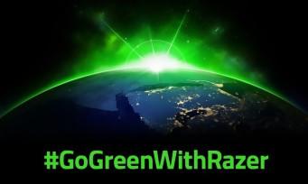Razer se lance dans le développement durable, des produits plus écologiques