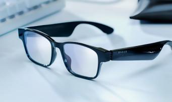 Razer Anzu : des lunettes lifestyle connectées avec écouteurs intégrés et filtre anti-lumière bleue