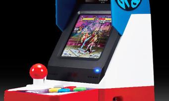 Neo Geo-Mini : SNK dévoile la date à laquelle il présentera sa borne d'arcade riquiqui