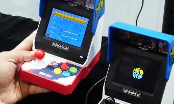 NeoGeo Mini : on a testé la bête de SNK à l'E3 2018, la Rolls Royce des consoles Mini ?