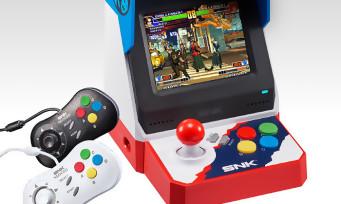 Neo Geo-Mini : on sait quand la console sera dispo au Japon et combien elle va coûter