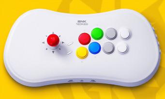 NeoGeo Arcade Stick Pro : Amazon France balance un prix et une date de sortie