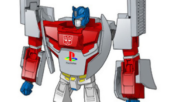 Transformers : un Mégatron Mega Drive et un Optimus Prime PS One au Japon