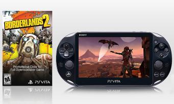 PS Vita Slim : un pack Borderlands 2 pour la sortie de la console aux Etats-Unis