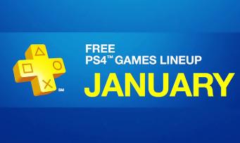 PlayStation Plus : découvrez les jeux gratuits du mois de Janvier 2017