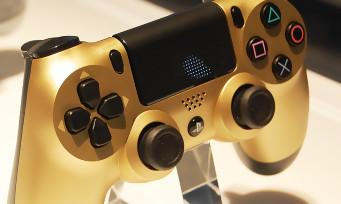 Ps4 slim gold toutes les photos officielles de la console - Prochaine sortie console ps4 ...