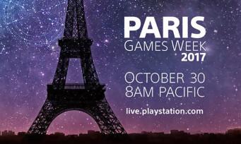 Sony promet de grosses annonces pour la Paris Games Week 2017 !