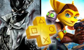 PS Plus : du lourd dans les jeux de mars 2018, avec Bloodborne et Ratchet & Clank