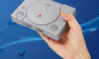 PlayStation Mini : Sony annonce une version miniaturisée de sa console, voici les jeux livrés avec
