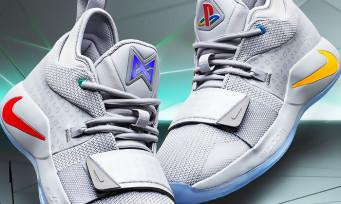 PlayStation : Sony dévoile des nouvelles baskets magnifiques en collab avec Nike, les PG 2.5