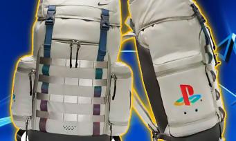 PlayStation : Sony continue sa collaboration avec Nike, un sac à dos PS One dévoilé !