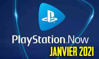 PlayStation Now : voici la liste des jeux de Janvier 2021, il y en a pour tous les goûts