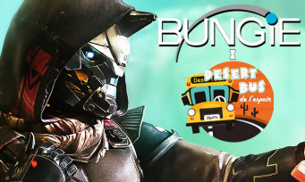 Bungie : le studio derrière Destiny apporte son soutien au Desert Bus de l'Espoir