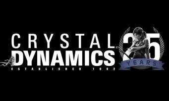 Crystal Dynamics : une vidéo retrace les 25 ans de carrière du studio