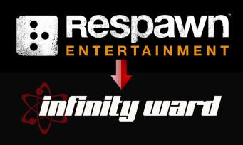 Infinity Ward : le studio récupère 8 de ses développeurs partis chez Respawn