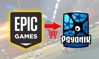 Psyonix (Rocket League) : surprise, le studio est racheté par Epic Games