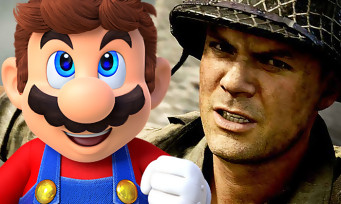Charts France : Call of Duty WW2 et Super Mario Odyssey dominent le marché