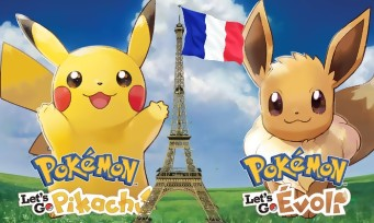 Charts France : Pokémon Let's Go! détrône Red Dead Redemption 2